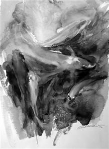 """""""斑斓的水彩世界——韦太2015年绘画作品展""""开幕"""