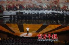 46位抗战老将军与上海市民同唱战歌
