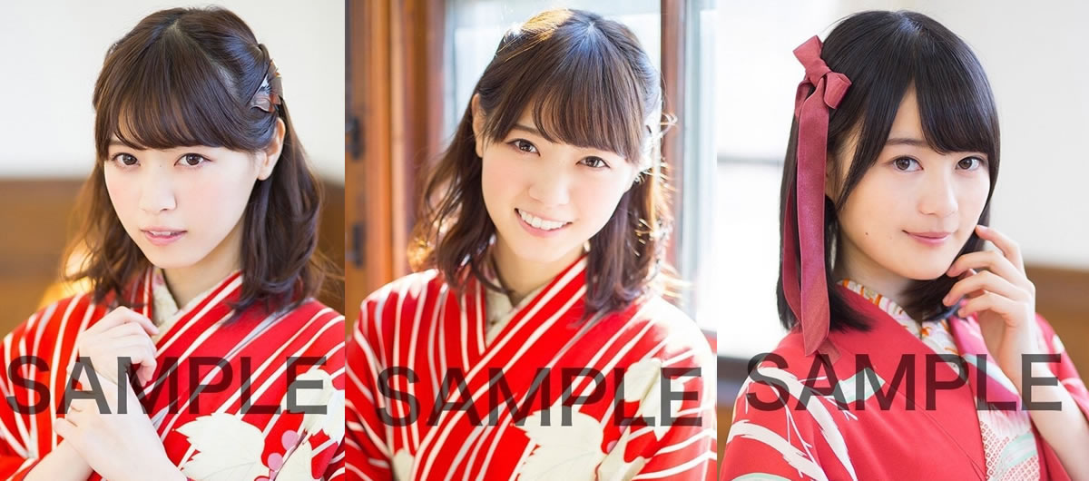 日本90后团体姐妹花和服写真曝光 清纯可人显娇美