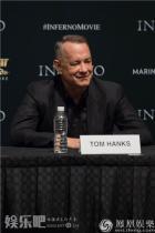 《但丁密码》全球发布会 汤姆·汉克斯膜拜的竟是他